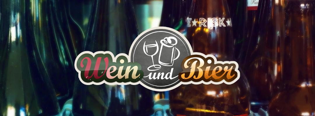 Wein und Bier, das rat' ich dir
